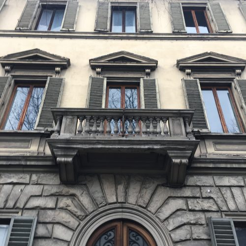Florence project, facade